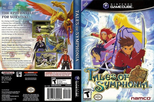 TALES OF SYMPHONIA | GameCube Cover