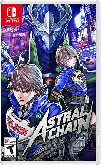 Astral Chain | Box art