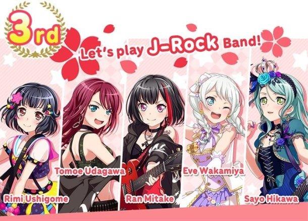 BanG Dream! Girls Band Party! | J-Rock