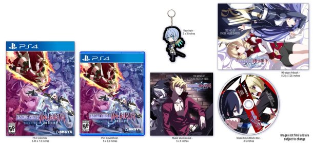 Under Night In-Birth Exe:Late[sl-r] | Collector's Edition