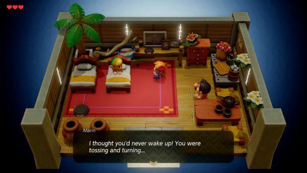Link's Awakening   Indoor Environments