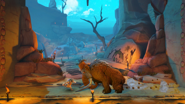 Jet Kave Adventure   Woolly Mammoth Boss Fight