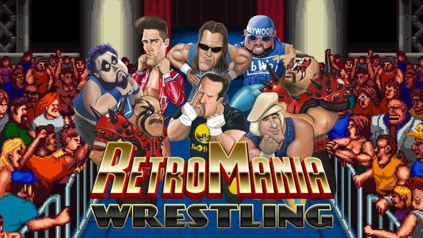 RetroMania Wrestling | Logo
