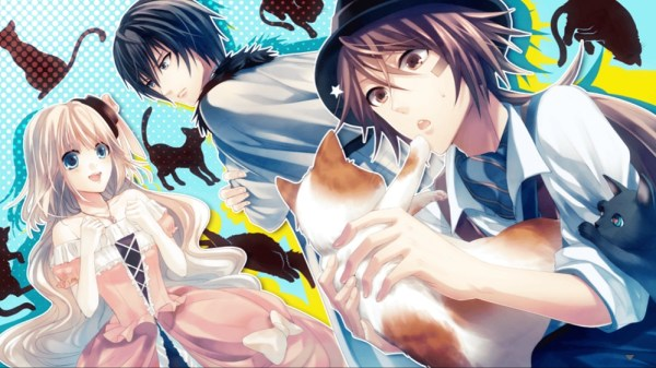London Detective Mysteria | Main characters with various cats