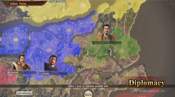 Romance of The Three Kingdoms XIV | Diplomacy