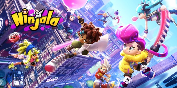 Nintendo Download | Ninjala Logo