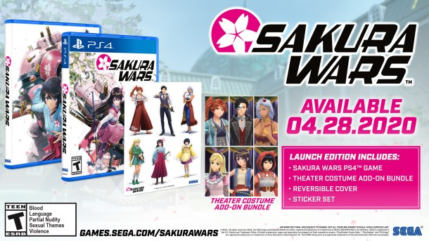Sakura Wars | Launch Edition Info