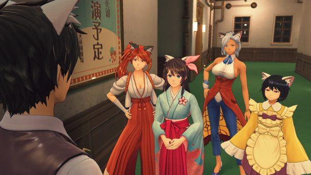 Sakura Wars | Neko