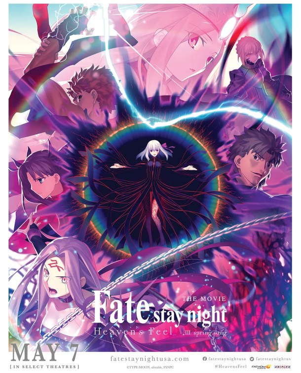 Fate/stay night: Heaven's Feel III. spring song | US Screening