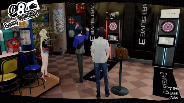 Persona 5 Royal | Joker & friends playing darts