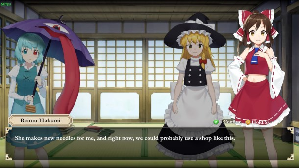 Touhou Mechanical Scrollery | Scene