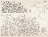 UDON X Capcom Sketchbook Alpha Art