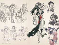 UDON X Capcom Sketchbook Alpha