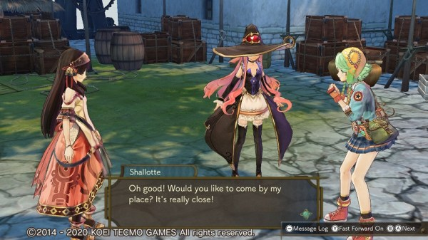 Atelier Shallie Dx | Both Shallies hanging out with Wilbell
