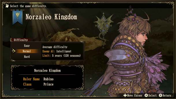 Brigandine | Difficulty Modes