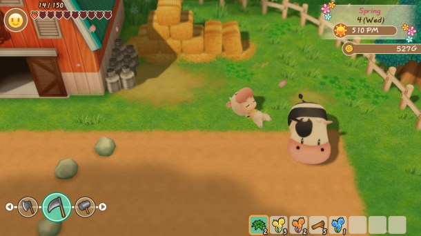 STORY OF SEASONS: Friends of Mineral Town | Relaxing Cow