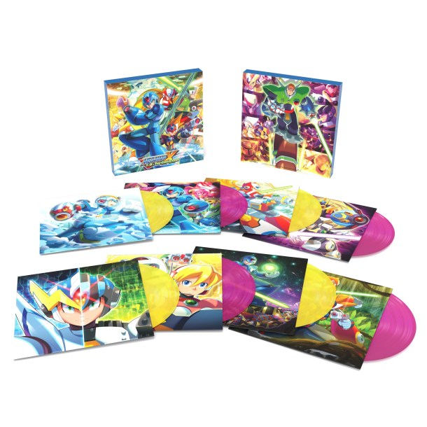 Mega Man X Vinyl