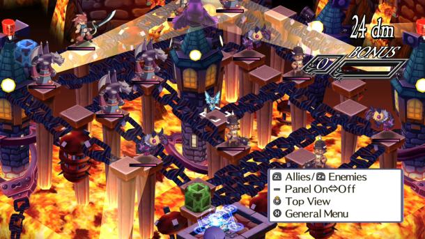 Disgaea 4 Complete+ | map
