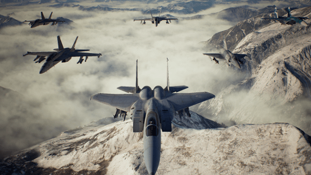 Ace Combat 7: Skies Unknown Spare Squardron