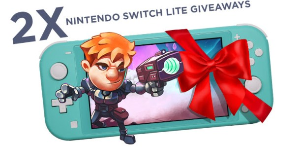 Space Robinson | Switch Lite Giveaways