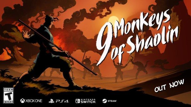 oprainfall   9 Monkeys of Shaolin