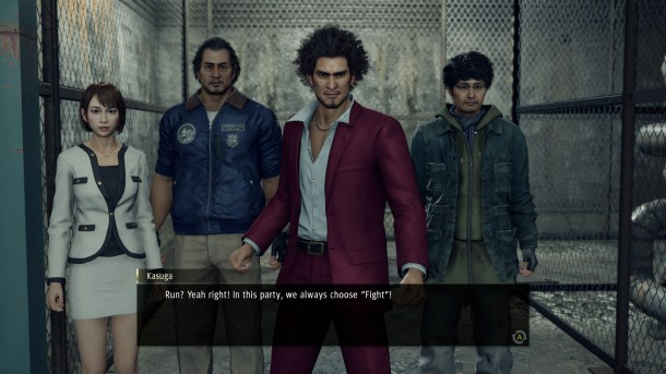 Yakuza: Like a Dragon | Ichiban's Party