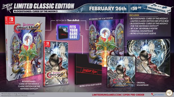 Bloodstained: Curse of the Moon 2 | Collectors edition