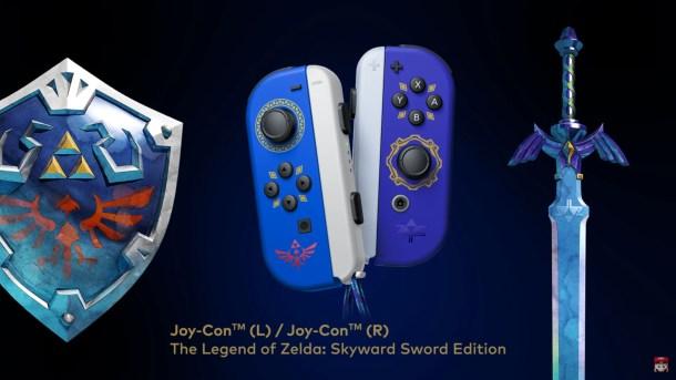 Skyward Sword JoyCons