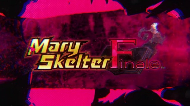 Mary Skelter Finale | Trailer Logo ScreenShot