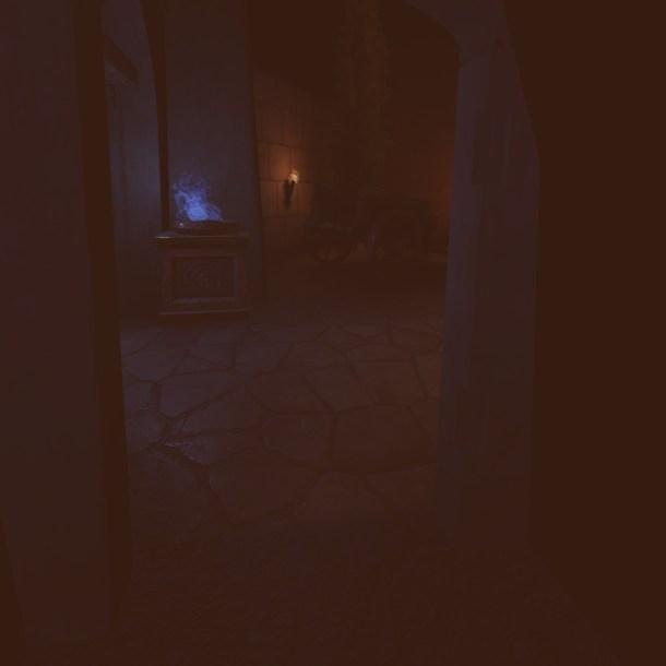 Stuck inside a wall in Ryte Eye of Atlantis