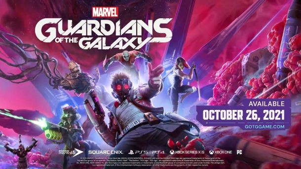 E3 2021   Guardians of the Galaxy