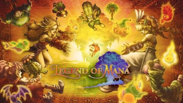 Legend of Mana | Logo Featured