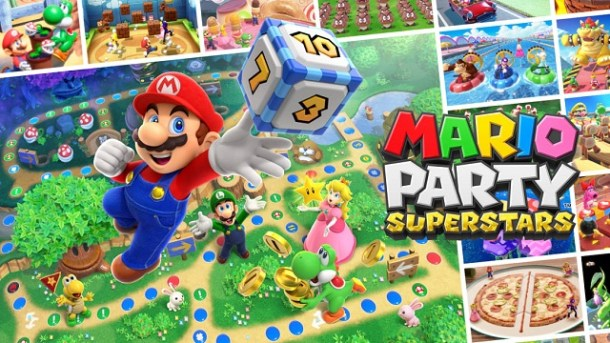 Mario Party Superstars | Official Logo Art
