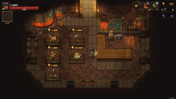 UnderMine | The blacksmith