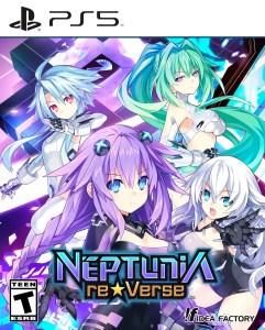 Neptunia ReVerse | Box Art