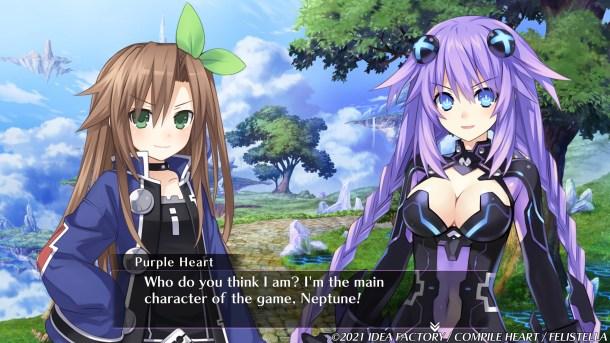 Neptunia ReVerse | The Main Character