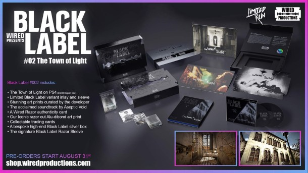 The Town of Light Black Label