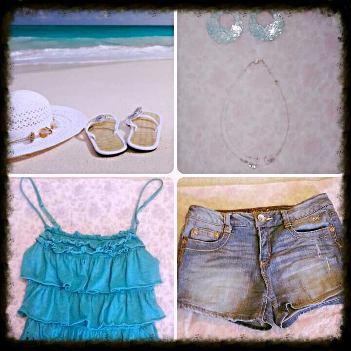 A Perfect Outfit for a Walk On The Beach!