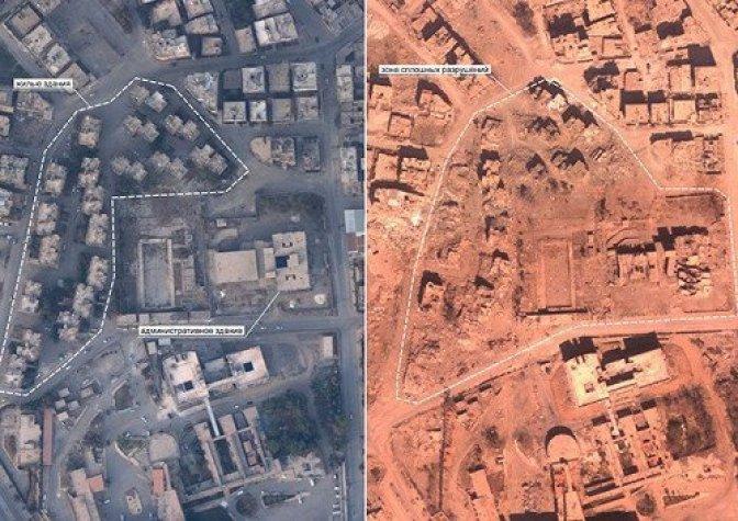 Обнародованы фотодоказательства разрушений, которые нанесла коалиция в Ракке 3