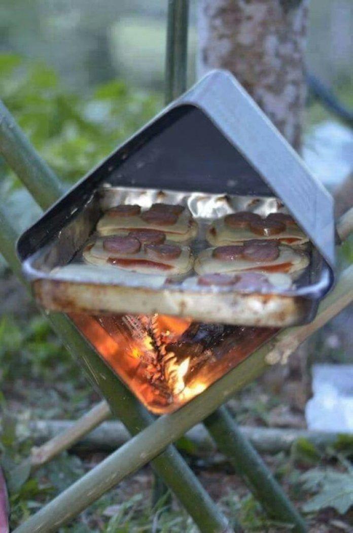 Необычные идеи мангалов для хорошей прожарки мяска ? 12