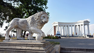 Воронцовская колоннада в Одессе. Архивное фото