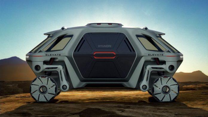 Hyundai Elevate — концепт шагающего колесного электромобиля, способного ездить, ходить и карабкаться по пересеченной местности [CES 2019] - ITC.ua 1