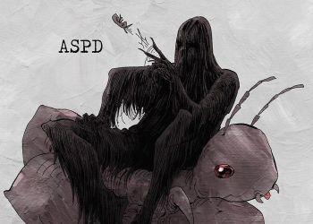 Художник показывает психические заболевания в виде монстров