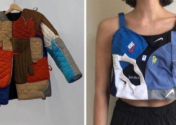 Дизайнер делает необычную одежду из старых вещей