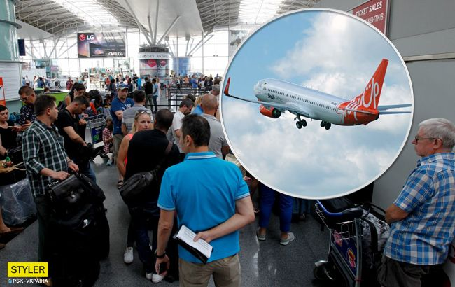 Рейсы переносят уже 15 часов: в Борисполе снова застряли пассажиры
