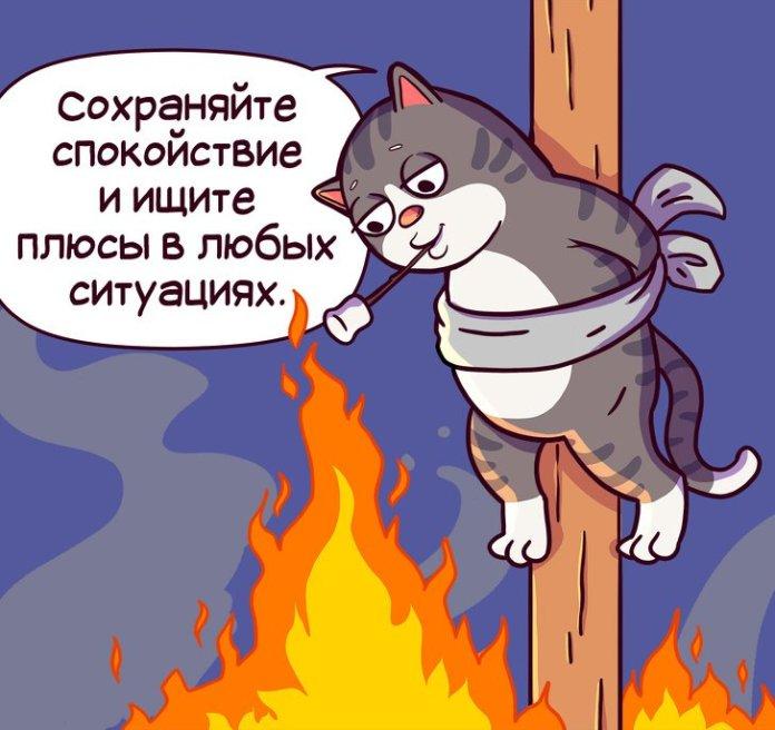Правила жизни кота Семена (комикс) 1
