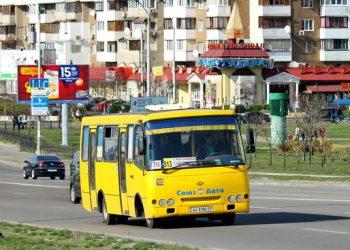 В Киеве маршрутка попала в масштабное ДТП