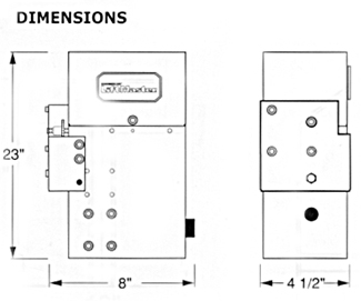LiftMaster SL505 Residential Sliding Gate Operator