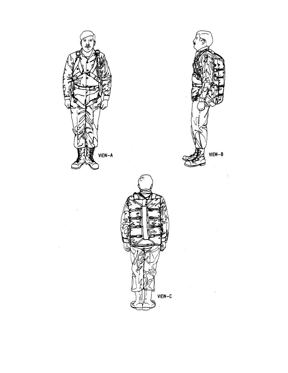 Figure 1-3. The NB-8 Back Personnel Parachute.