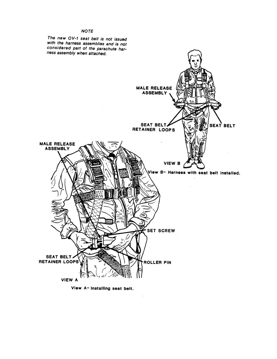 Figure 2-6. OV-1 Fitted Harness.